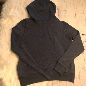 PINK Victoria's Secret Jackets & Coats - Victoria's Secret Blue Hoodie